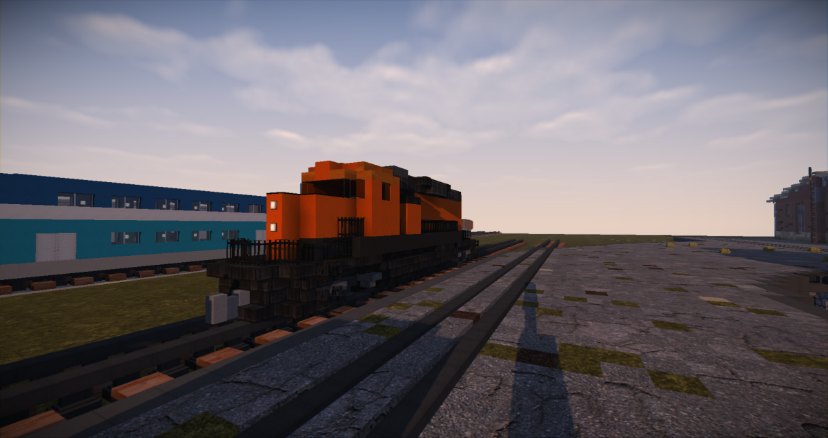 how to make a train in minecraft