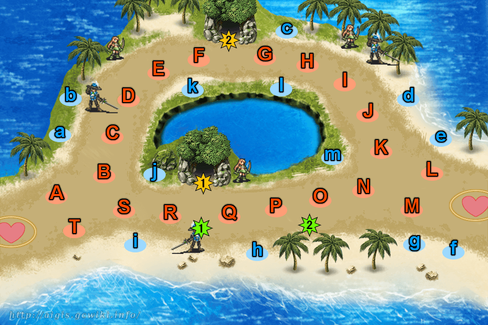 竜の島の総力戦