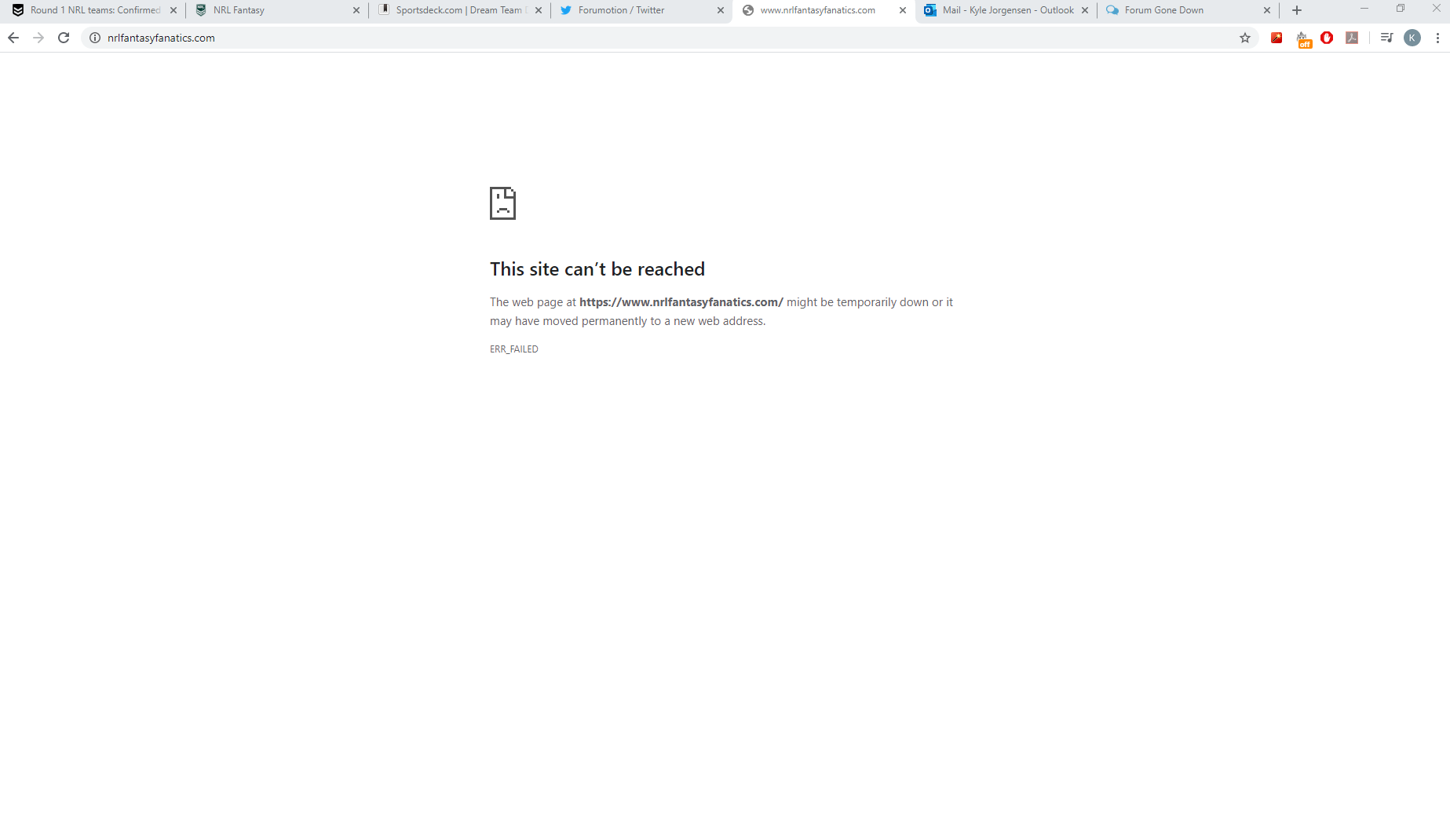 my forum is down because of an invalid SSL certificate C4492e4cab811a5c38d966fd1982ff95
