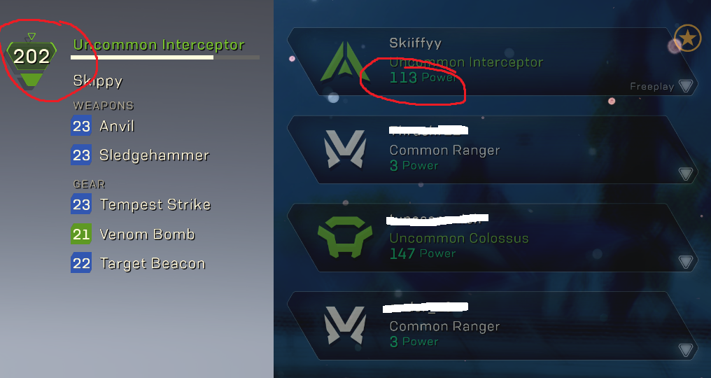 [NoSpoiler] How the heck is powerlevel calculated in freeplay/stronghold? why is it so much lower if a higher one is obviously possible