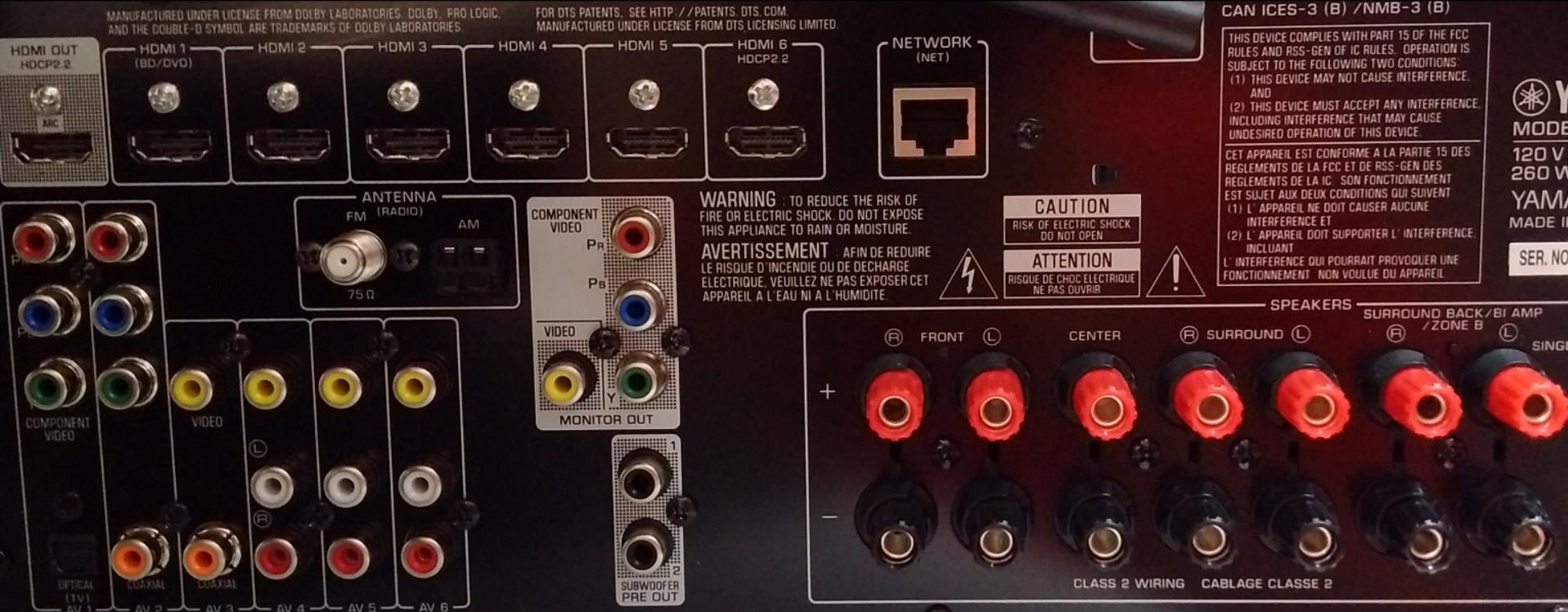 The AVS Yamaha TSR-5790 & TSR-579 Owner's Thread - AVS Forum