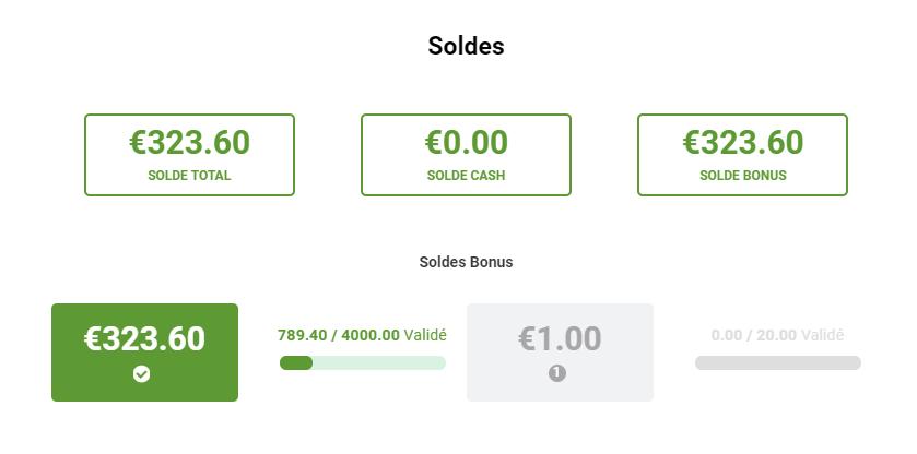 solde bonus