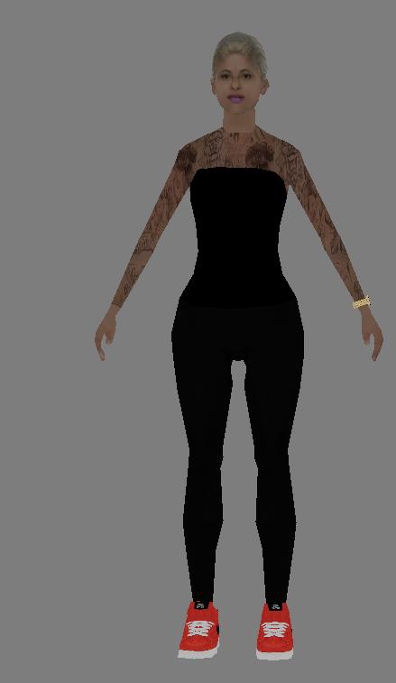 [FND] All skin girl