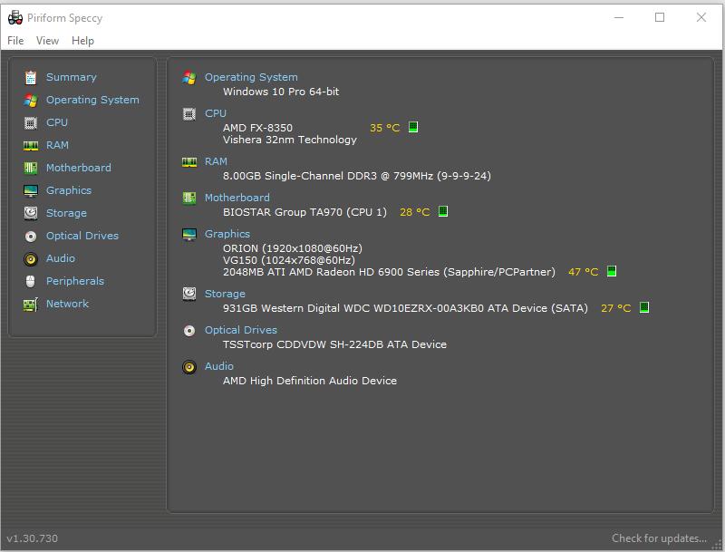 CPU FX 8350 8 Cores 40GHz Driver Version 100143930