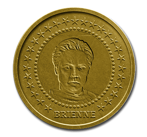 Brienne Game of Thrones Coin