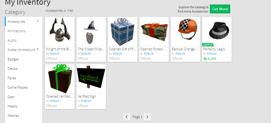 Selling - High End - 2009 - Selling 2009 Roblox Account with