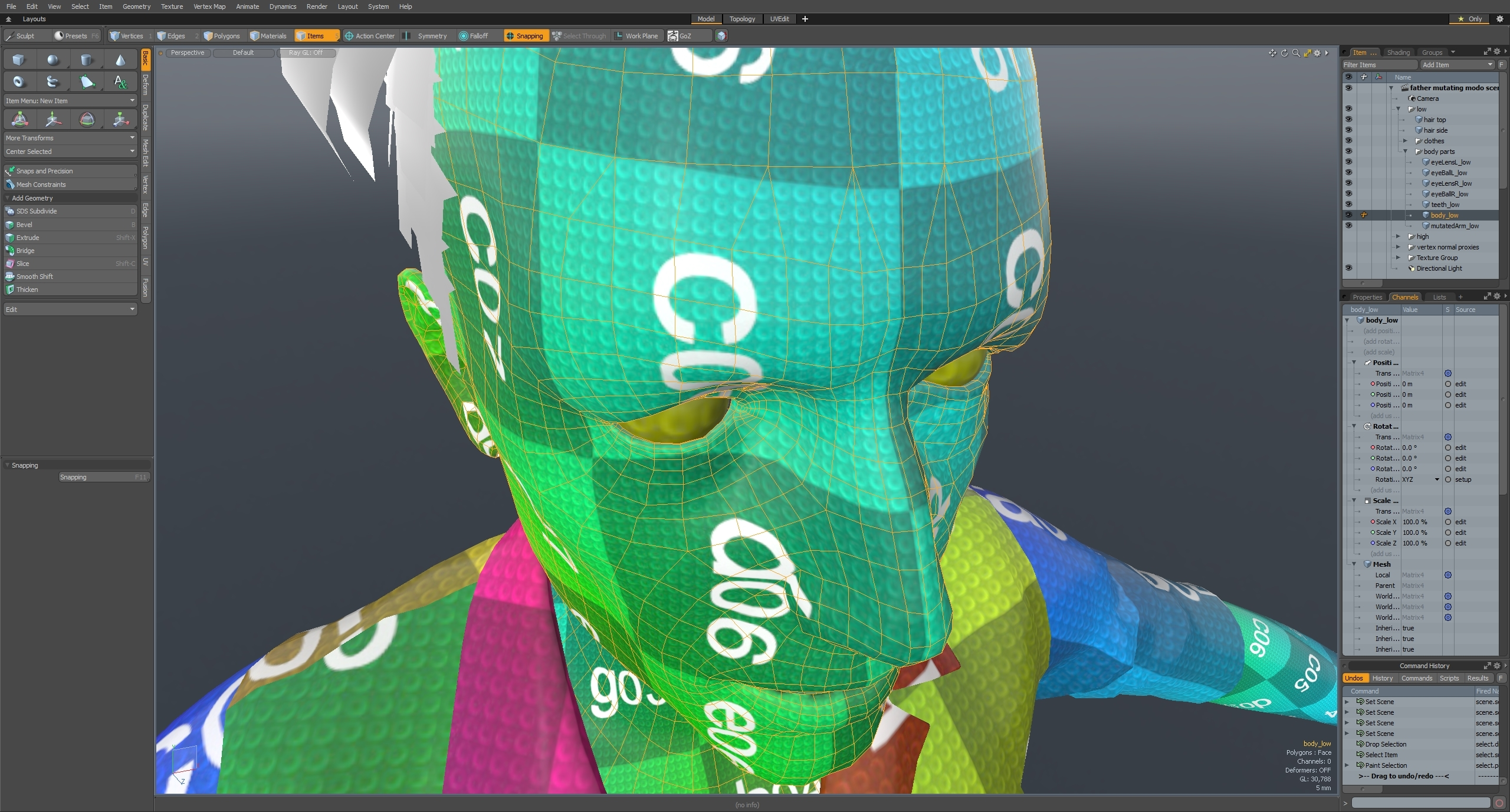 Why are my meshes transforms all messed up in my FBX exports