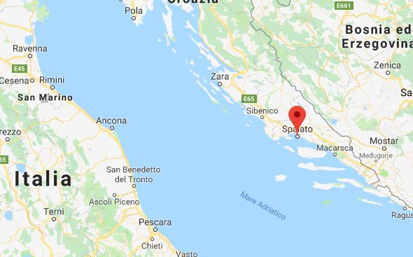 Mappa Spalato Italia Google Maps