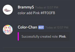 Color-Chan | Discord Bots