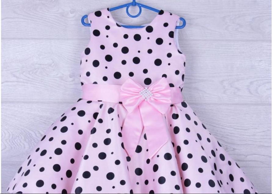 Детские нарядные платья от 600 руб! (фатин+атлас)