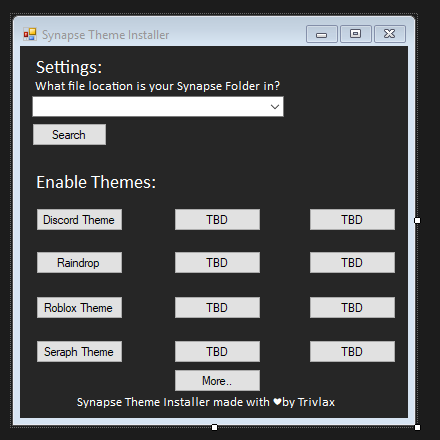 Synapse Theme Installer