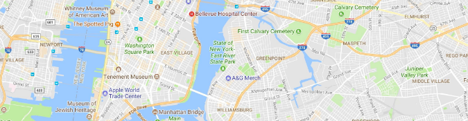 Google map screenshot | The Therapist's Guide to Google AdWords | Brighter Vision Web Solutions | Therapist Websites & Marketing for Therapists | Blog for Therapists