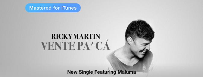 Ricky Martin - Vente Pa Ca (feat. Maluma) - Single [iTunes Plus AAC M4A] (2016)