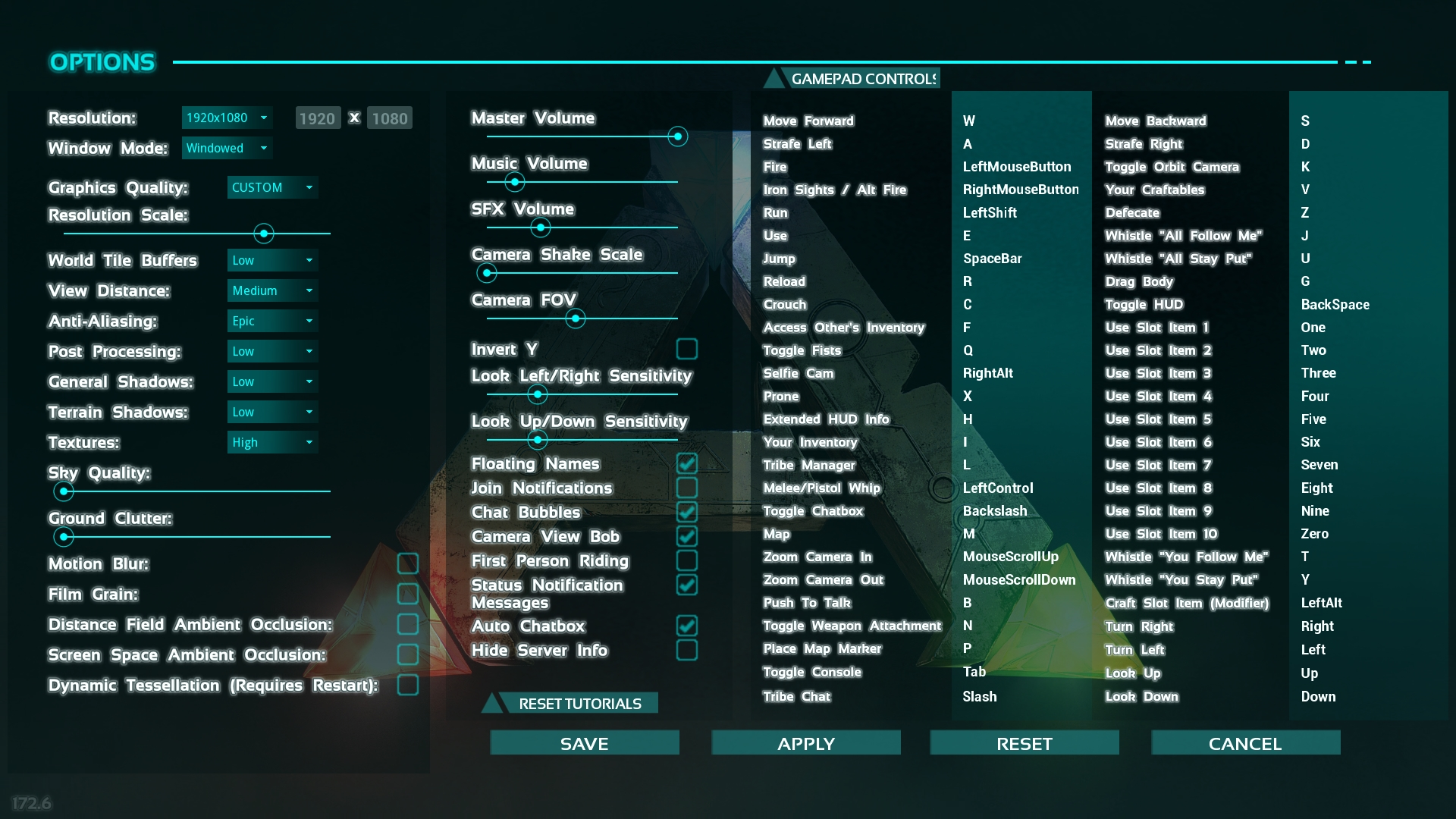 Ark best non dedicated server settings e