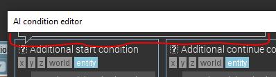 Information is cut off by window size