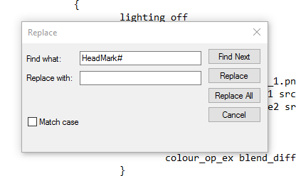 tutorial - Tutorial for Head Markings Cbc5b7568405e15af3f60e49b4dd7346