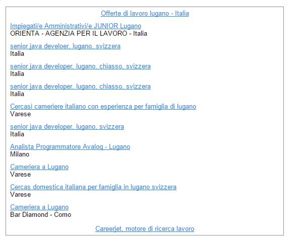 stable quality new arrive new cheap offerte di lavoro in svizzera: Offerte di lavoro lugano - Italia