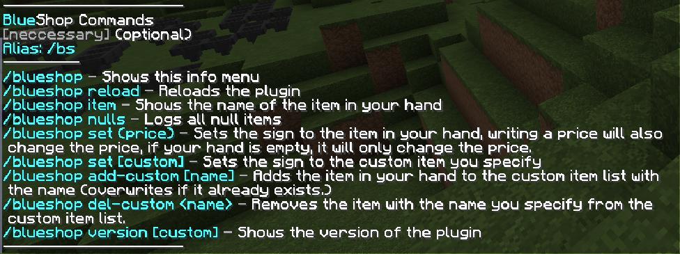 NULLED - Blue Shop (Admin sign shop plugin) - Updates | DL