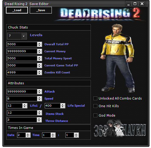 Release Dead Rising 2 Save Editor