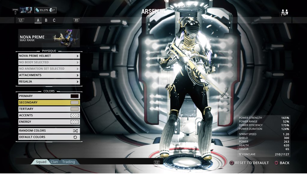 Share Nova Prime Color Schemes Players Helping Players Warframe Forums I'm planning on getting trinity prime next since i like her design. share nova prime color schemes