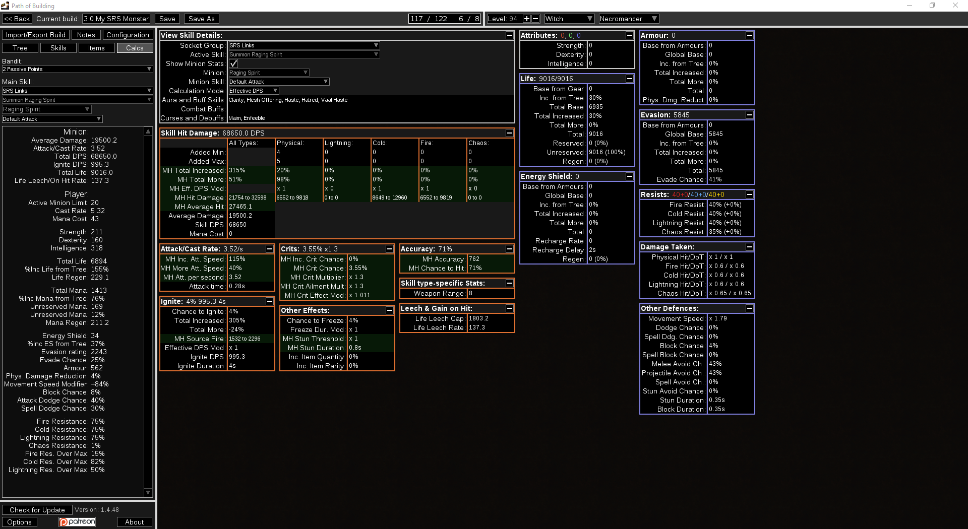 Calculate Dps Build Poe