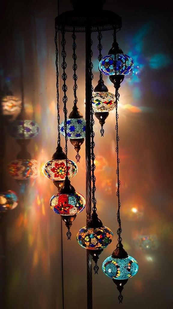 Handmade Mosaic Globe Lamp Fast