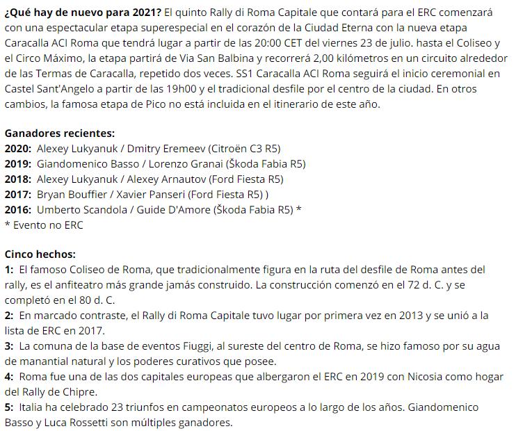ERC: Rally di Roma Capitale [23-25 Julio] D0db251c7cb1b8659ff7a59532c623ba