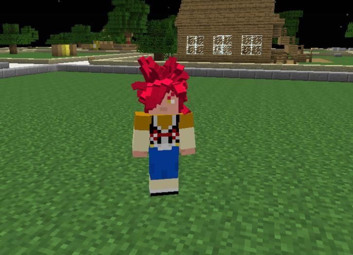 Goku SSJ4 With Frinje