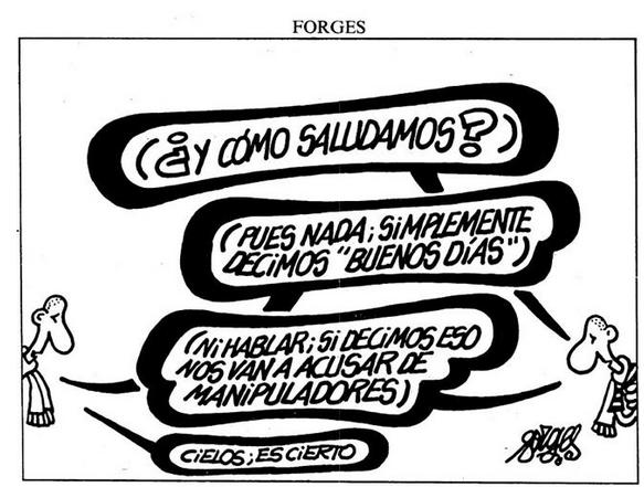 Muere el dibujante Forges a los 76 años. El mago de las viñetas críticas D107a3d96ff5a83b858d5d478a69b003