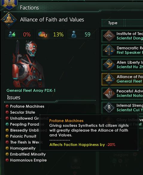 stellaris how to get spiritualist faction
