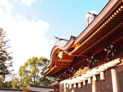 [写真]寒川神社本殿
