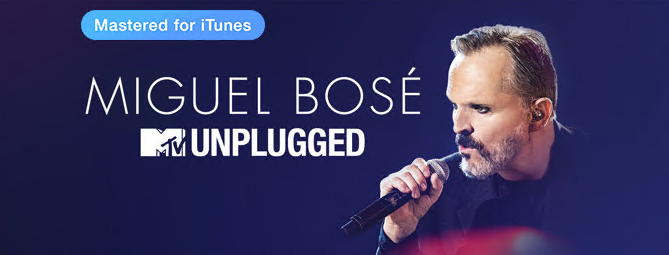 Miguel Bose - MTV Unplugged [iTunes Plus AAC M4A] (2016)