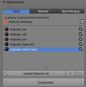 Optimisation tips for player models in blender - Workshop