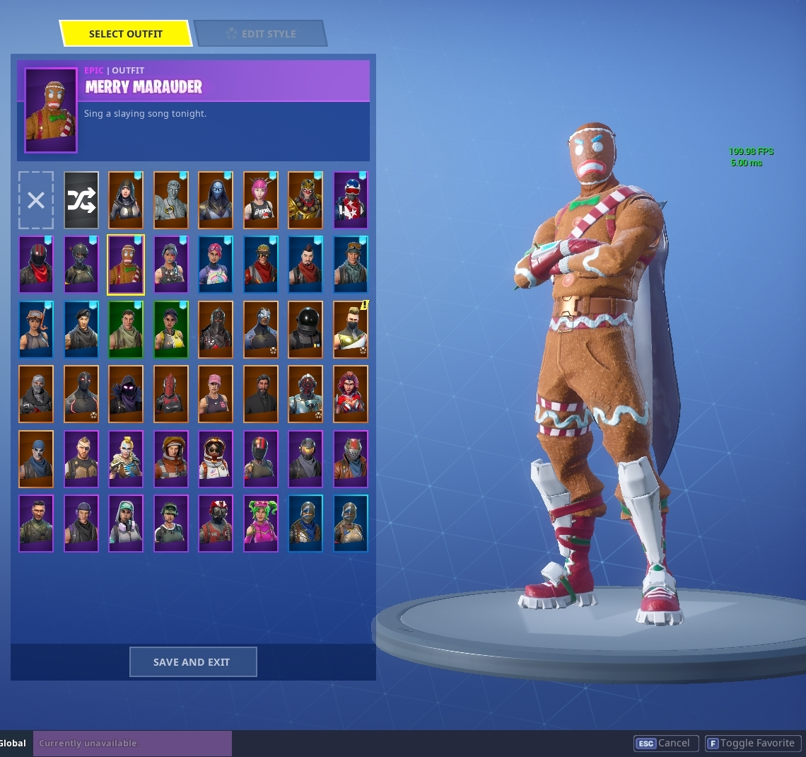 Selling Fortnite Account 276 Wins Merry Marauder Black Knight