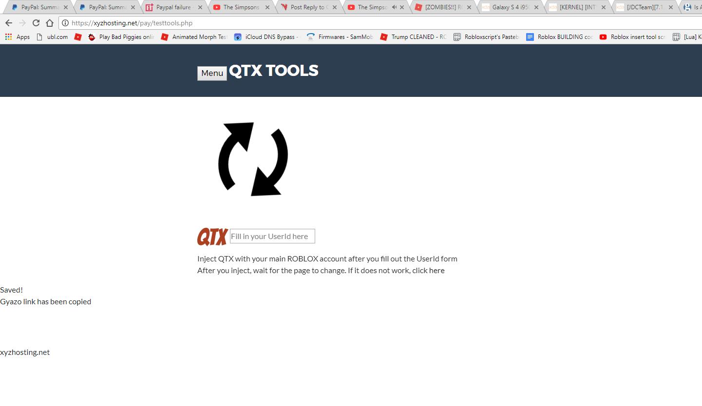 QTX Whitelist Problem