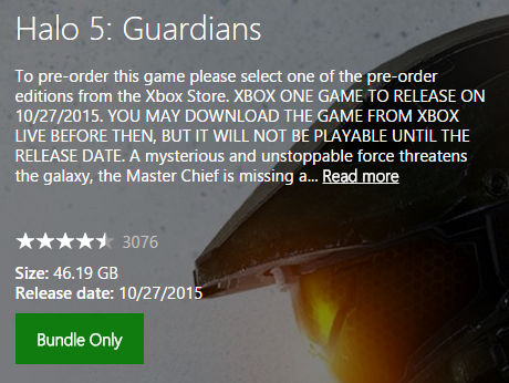 Halo 5: Guardians download size and more — Rectify