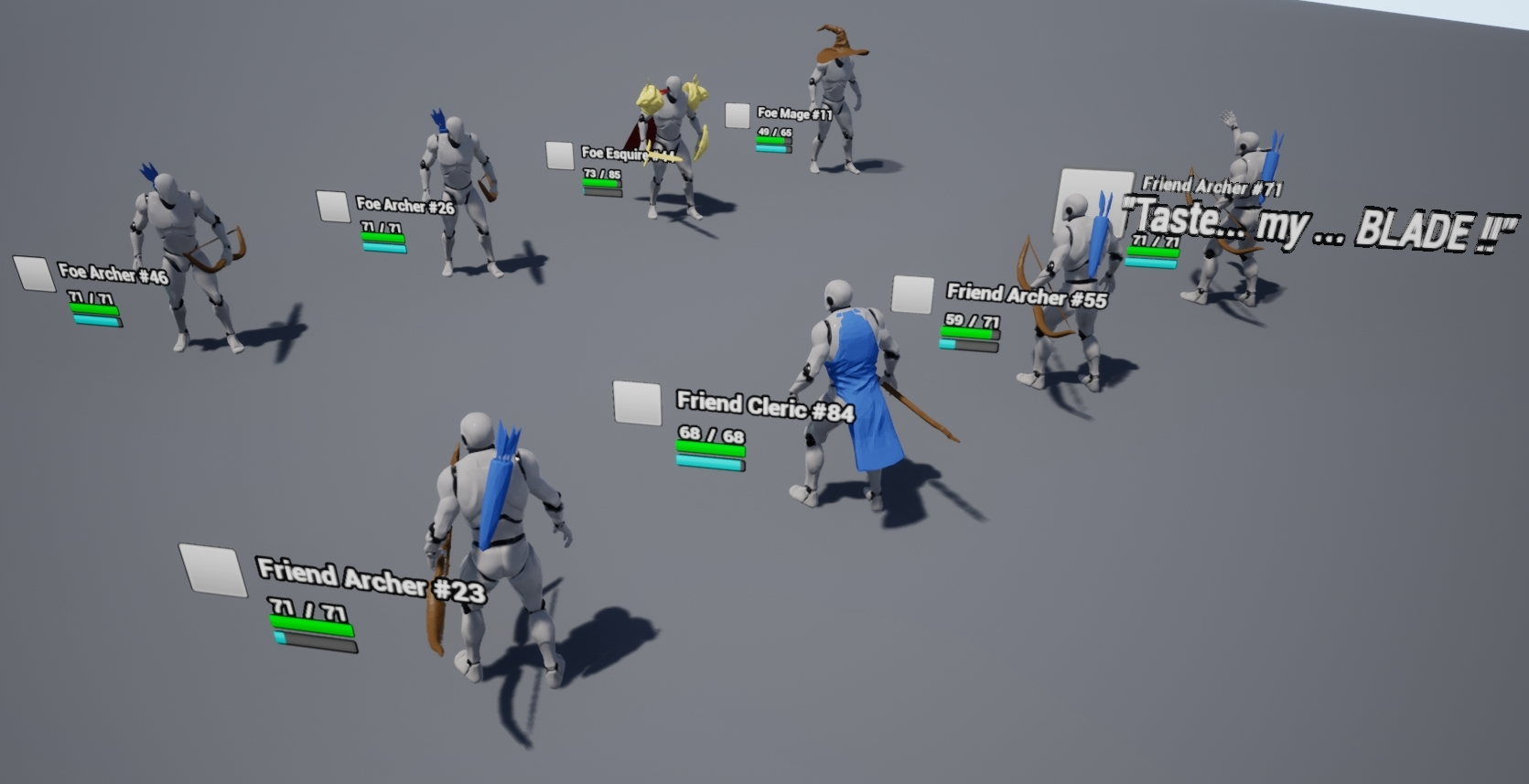 Problem with Pawn Move To Location : unrealengine
