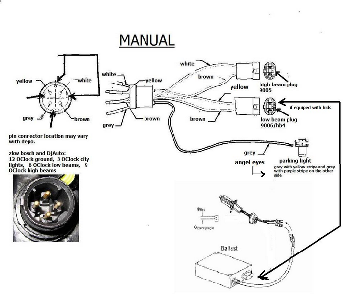 wiring schematic bmw e85