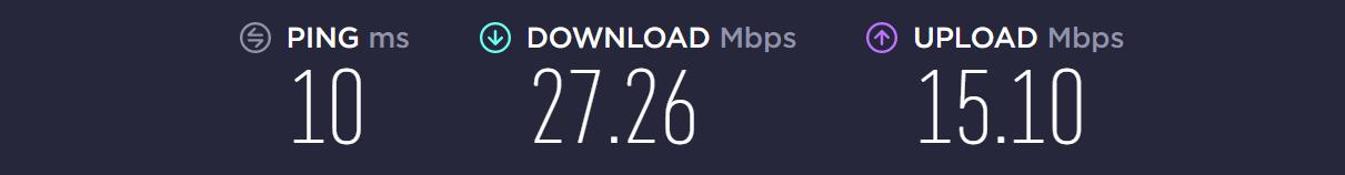 Internetgeschwindigkeit auf meinem PC (5 Jahre alt)