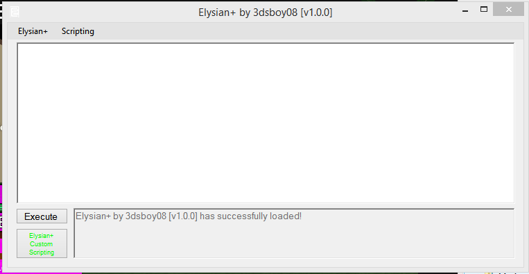 Elysian Roblox Download - Release External Gui Elysian Free Elysian By 3dsboy08