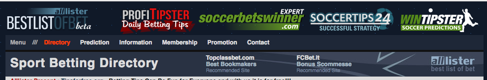 Odds added and FootyStats earns Site of the Month award at Alllister - Jaime