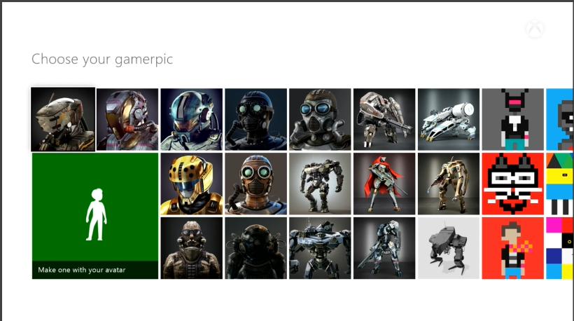 Xbox One Gamerpic Option 2