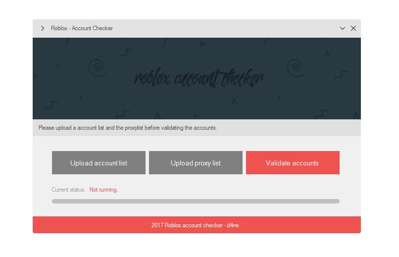 Roblox Account Checker/Scrape for Proxies [$25+ BTC]