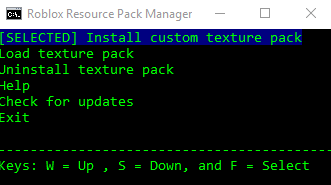 GO BACK TO THE OG 2013 ROBLOX] Roblox Resource Pack Manager
