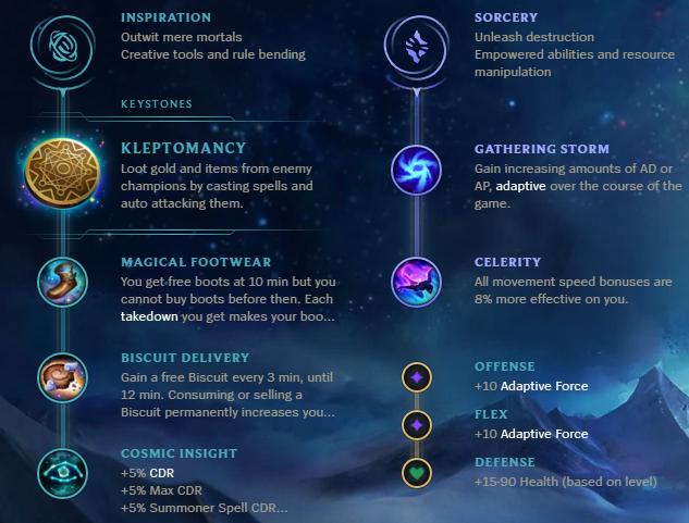 Guide] Sona support guide + Kleptomany Sona bonus - League