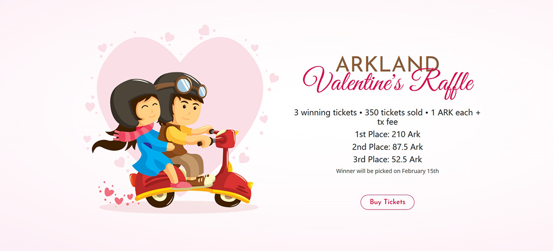 e've sold out all of our tickets in our Valentine's Raffle in less than 24 hours!