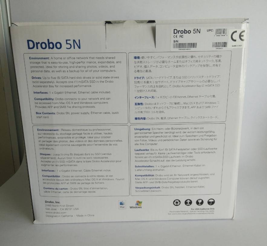 d9e5eefab8f2311a5c6fe40401344c40 Drobo 5N 5 Bay NAS Review
