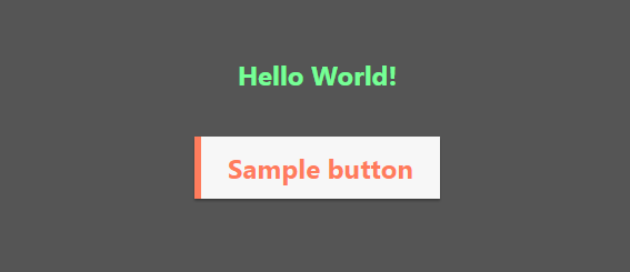 styled-components を試してみる!