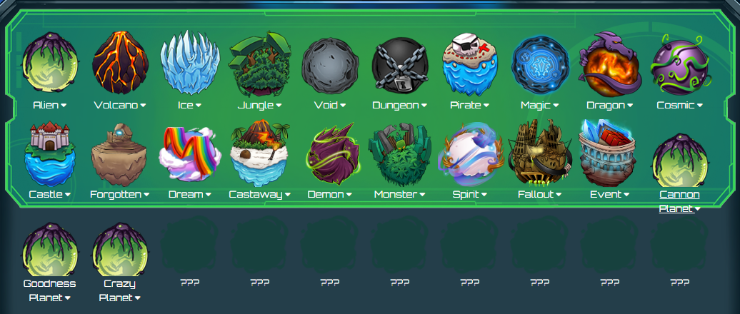 New Planet Names | CosmicPvP Forums