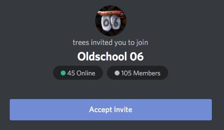 Oldschool06 Invitation